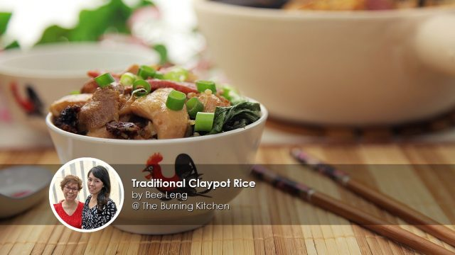 traditional claypot rice home cook bee leng creation