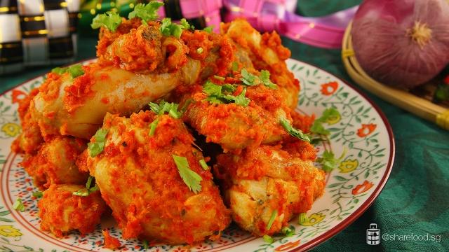 Chicken-Balado-dish