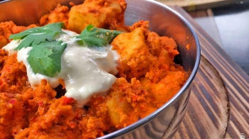 Paneer Butter Masala (Cottage Cheese Curry) 印度干酪咖喱