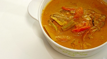 Assam Curry Fish Head 阿萨鱼头咖喱