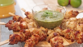 Murgh Malai Chicken Tikka 印度起司烤鸡