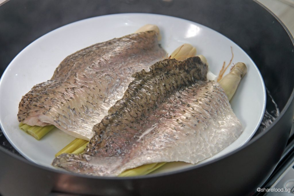 Steaming the Barramundi