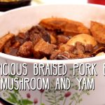 Auspicious Braised Pork Belly with Mushroom and Yam featured image