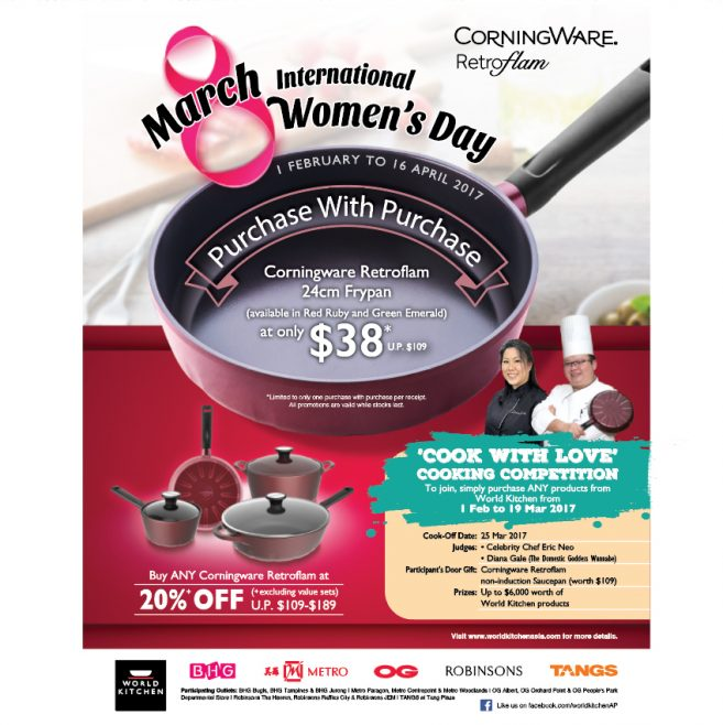 International Women's Day with CorningWare