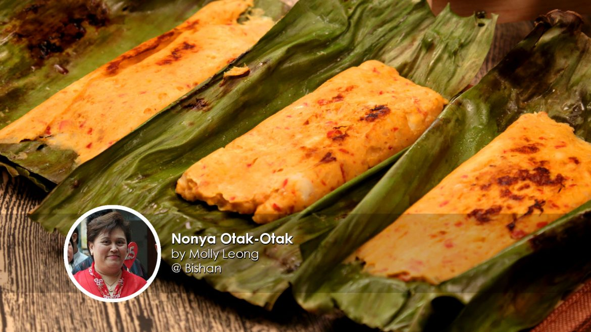 Nonya Otak-Otak home cook Molly Leong creation