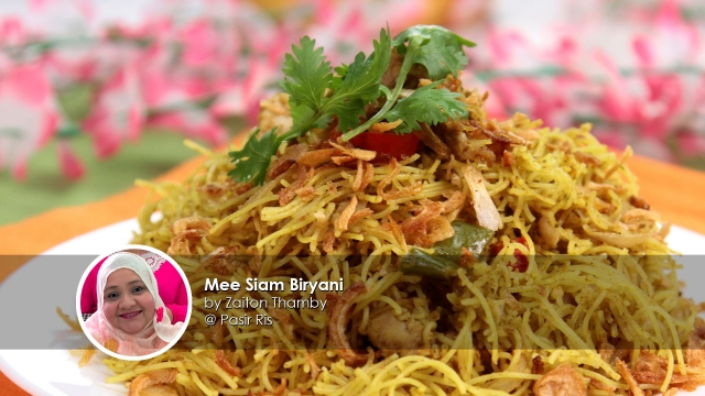Mee Siam Biryani home cook Zaiton Thamby creation