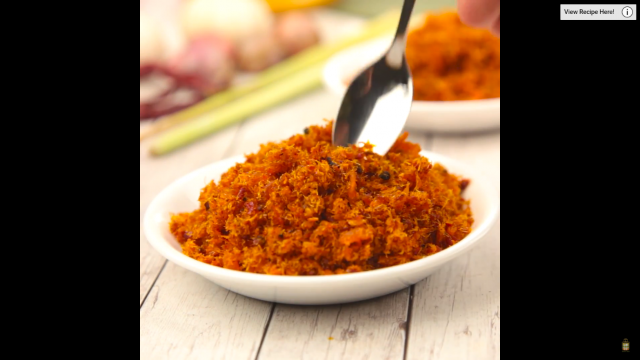 Hae Bee Hiam (Dried Shrimp Spicy Sambal)