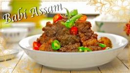 Babi Assam (Tamarind Pork)
