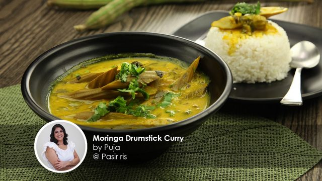 moringa drumstick curry home cook puja creation