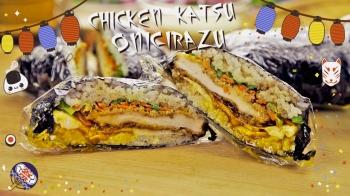 Teriyaki Chicken Katsu Onigirazu