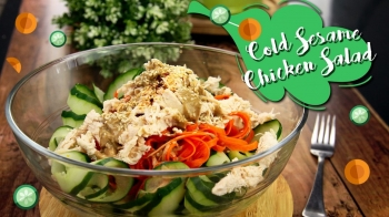 Cold Sesame Chicken Salad