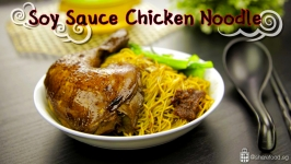 Soy Sauce Chicken Noodle