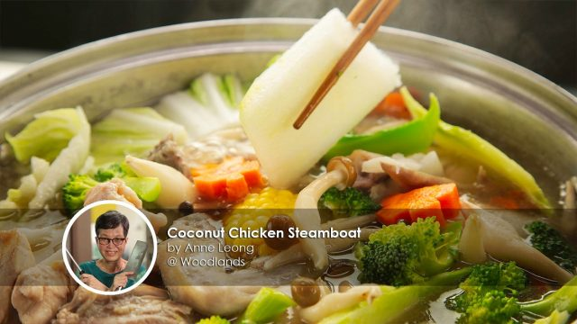 Coconut chicken steamboat home cook anne leong creation