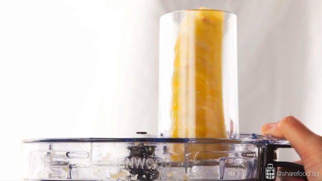 Kenwood food processor grating chopped pineapple