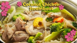 Coconut Chicken Steamboat