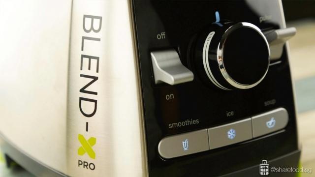 Kenwood's Blend X Pro machine close up