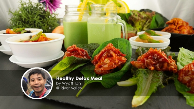 Healthy detox meal home cook wyatt tan
