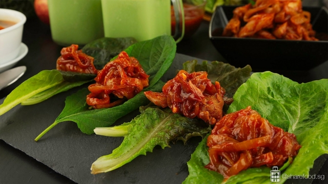 Low carb korean lettuce wrap