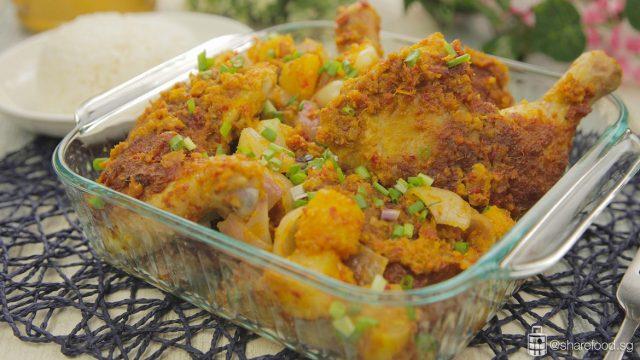 baked laksa chicken 2