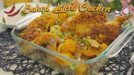 Baked Laksa Chicken