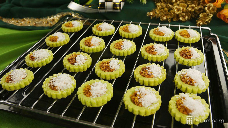 Ondeh-ondeh-cookies-hari-raya-tarts