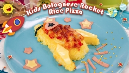 Kids Bolognese Rocket Rice Pizza