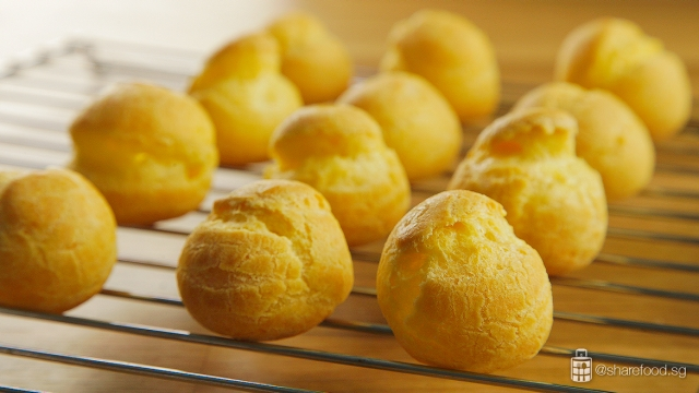 DurianPuff-choux-pastry