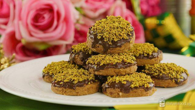 Pistachio-Crunchy-Cookies-Kenwood-ChefZan-Recipe