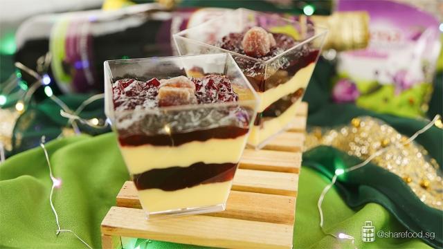Ribena-blackcurrant-milk-pudding-hari-raya-recipe