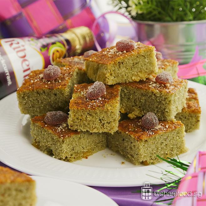 ribena share food semolina cake