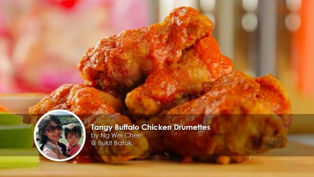 TangyBuffaloChickenDrumettes-homecook-ngweichee