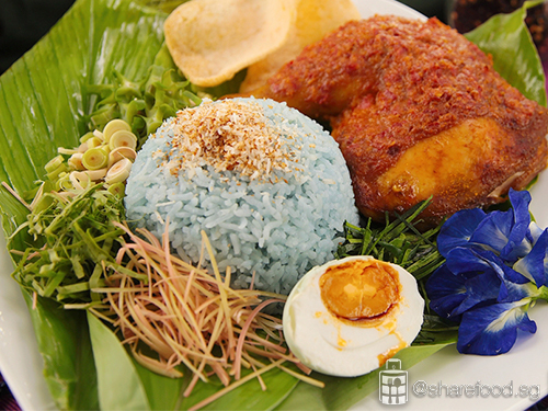nasi kerabu photo