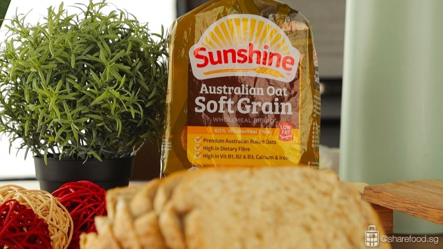 Aussie Chiko Bread Roll - Using Sunshine Australian Oats Soft Grain Bread