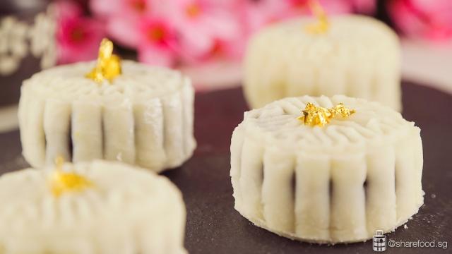 Yuan Yang Caramel Snowskin Mooncake - Mid Autumn Festival