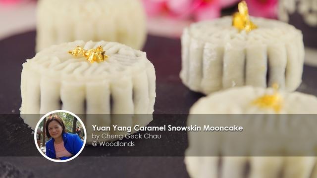 Yuan Yang Snowskin Mooncake - home coook Cheng Geck Chau