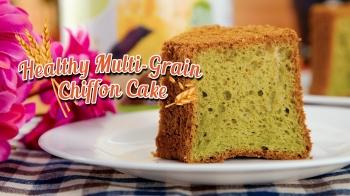 Healthy Multi-Grain Chiffon Cake