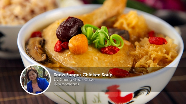 Snow Fungus Chicken Soup Recipe Homecook