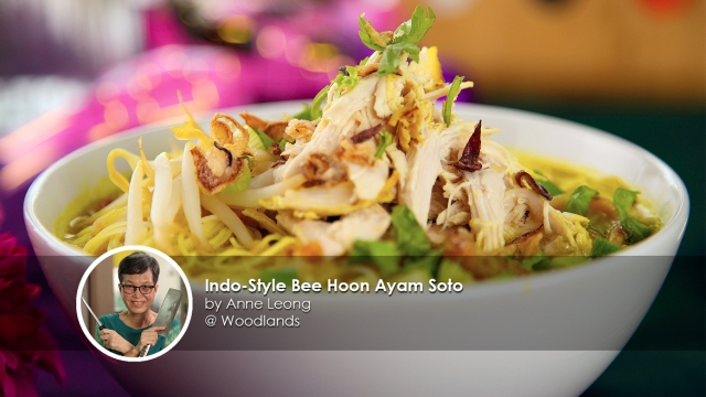 Indo-Style Bee Hoon Ayam Soto by Home cook Anne Leong