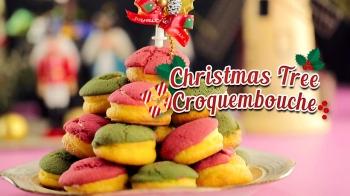 Christmas Tree Croquembouche