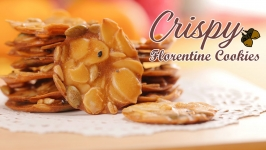 Crispy Florentine cookie