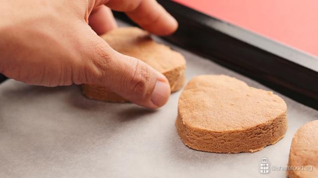 prepare for baking