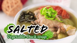 Salted Vegetable Duck Soup