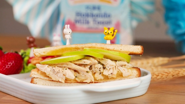 Perfectly toasted sandwich perfect for your kids