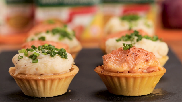 Transforming the original Shepherd Pie into tartlet form