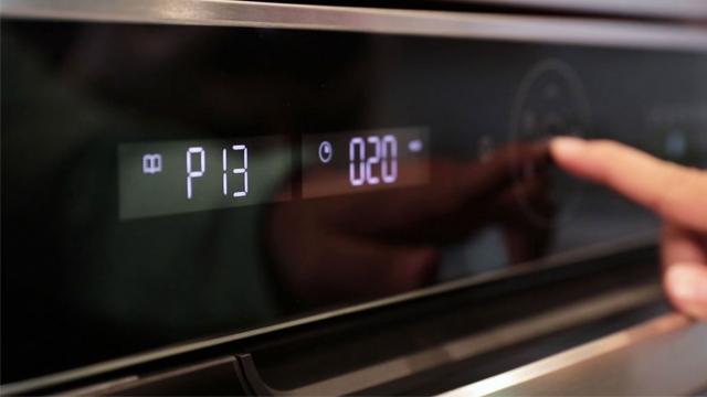 oven pre-set temperature