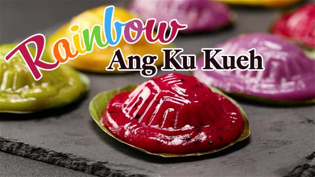 Rainbow Ang Ku Kueh