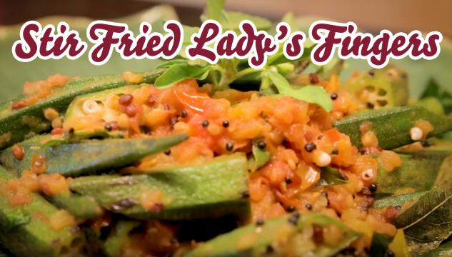 Stir Fried Lady's Fingers