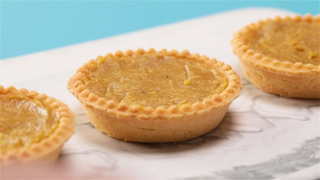 Chill the tarts in the refrigerator for 20 minutes till it sets.