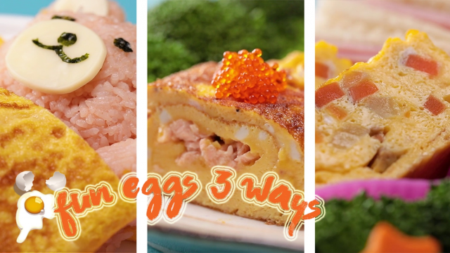 Fun Eggs 3 Ways