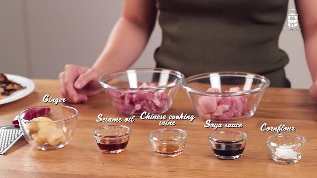 Simple five ingredient pork marinade